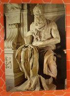 Mosè Michelangelo Basilica S. Pietro In Vincoli Statua Cartolina - Sculture