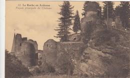 LA ROCHE EN ARDENNE / FACADE PRINCIPALE DU CHATEAU - La-Roche-en-Ardenne