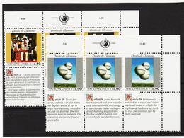 SRO73 VEREINTE NATIONEN UNO GENF 1993 Michl 233/34  ** Postfrisch - Genf - Büro Der Vereinten Nationen