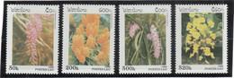 V5 - LAOS PO 1233/1236 ** MNH De 1996 - Flore - ORCHIDES - - Laos