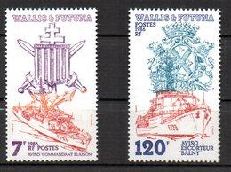 Col 8    Wallis & Futuna   N° 348 à 350 Neuf XX MNH  Cote : 5,50 Euro - Wallis-Et-Futuna