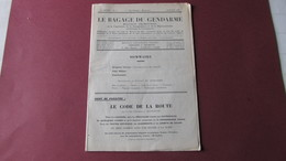 LE BAGAGE DU GENDARME - BULLETIN - POLICE MILITAIRE - TRANSFEREMENTS - NAVIGATION AERIENNE - JUILLET 1935. - Zeitungen - Vor 1800