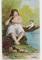 """LORELEY  Carte Fantaisie """"toilette Au Bord De L 'eau"""" (lot Pat 13) - Autres Illustrateurs"""