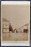 MORTAGNE SUR SEVRE - PHOTO ANCIENNE - PLACE DE LA LUNE - ANIMATION - 27 MAI 1897 - Mortagne Sur Sevre
