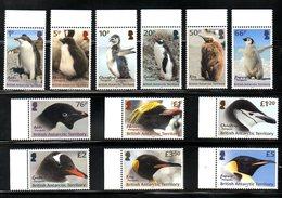 BR.ANTARCTIC, 2018,PENGUINS, Definitive, 12v. MNH** NEW!! - Penguins