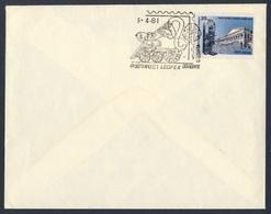 India Indien 1981 Cover Brief Enveloppe - 81 LEOPEX - Leo Club Inter School, Calcutta - Organization Of LIONS Clubs Int. - Treinen