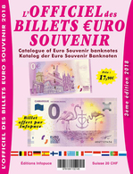 CATALOGUE DES BILLETS EURO SOUVENIR DE 2015 À 2017 AVEC BILLET CAMARGUE OFFERT BANKNOTE EURO SCHEIN PAPER MONEY - EURO