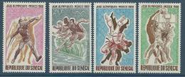 "Senegal Aerien YT 68 à 71 (PA) "" JO Mexico "" 1968 Neuf** - Senegal (1960-...)"