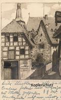 AK Osnabrück, In Der Nähe Des Rathauses - Osnabrück