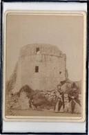 MORTAGNE SUR SEVRE - PHOTO ANCIENNE - LE CHATEAU - ANIMATION - BEAU PLAN - 27 MAI 1897 - Mortagne Sur Sevre