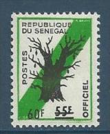 "Senegal Service YT 17 "" Baobab Surchargé "" 1968 Neuf** - Senegal (1960-...)"