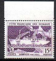 Col 8    Cote Des Somalis   N° 285 Neuf XX MNH  Cote : 3,00 Euro - Französich-Somaliküste (1894-1967)