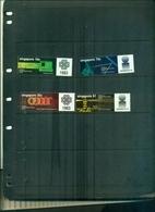SINGAPORE ANNEE DES COMMUNICATIONS 4 VAL NEUFS A PARTIR DE 0.50 EUROS - Singapour (1959-...)