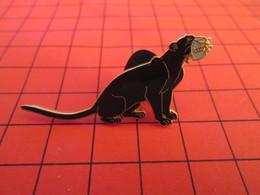 DIS-SPE Pin's Pins : BEAU ET RARE : DISNEY Très Grand Pin's PANTHERE NOIRE BAGHEERA - Disney