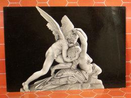 Nudo Angelo Amore E Psiche Canova Statua Cartolina - Sculture