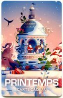 @+ Carte Cadeau - Gift Card : PRINTEMPS  - NOEL2018 (CARTE N) - France