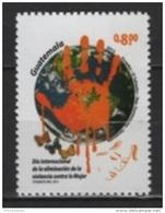 Guatemala (2015)  - Set -   /  Women Violence - Butterflies - Joint Issue Salvador - Ecuador - Venezuela - Dominicana - Emissions Communes