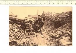 49066 - TRANCHEES POSTE DE GUETTEUR-MITRAILLEUR PRES DE LA MAISON DU PASSEUR 1919 - Guerre 1914-18