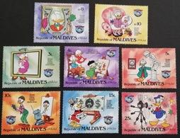 Maldive Islands  1984 Donald Duck LOT - Stamps
