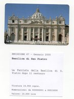 Vaticano - Urmet - La Facciata Della Basilica Di San Pietro Dopo Il Restauro - Nuova - Validità 1.1.2002 - (FDC13270) - Vaticano