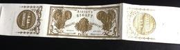 Biscuits Sigaut Paris Superbe Bandelette Dorée Vanille - Confiserie & Biscuits