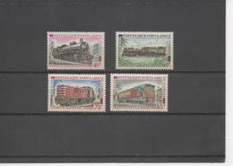 CONGO - Locomatives : Mikado 141, 130-032, Alsthom BB 1100, C.E.M.C.A.F.L.BB BB 302 - Train - Rail - - Congo - Brazzaville