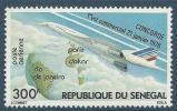 "Senegal Aerien YT 151 (PA) "" 1er Vol Commercial Concorde "" 1976 Neuf** - Senegal (1960-...)"