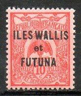 OCEANIE - Protectorat Français - (WALLIS Et FUTUNA) - 1922-25 - N° 20 - 10 C. Rouge S. Rose - Neufs