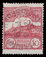 Veduta Di San Marino - 10 C. Carminio - 1903 - San Marino