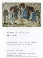Vaticano - Urmet - Giubileo Del 2000 - La Trinità - Nuova - Validità 1.5.2002 - (FDC13272) - Vaticano