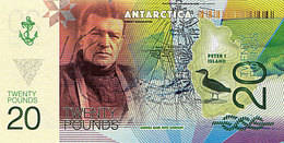 ANTARCTICA 20 Pound 2017   Ernest Shackleton  UNC - Fictifs & Spécimens