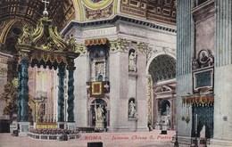 Vaticano Roma, Interno Chiesa S Pietra  (pk53225) - Vatican