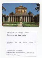Vaticano - Urmet - Basilica Di San Paolo Fuori Le Mura - Nuova - Validità 1.5.2002 - (FDC13273) - Vaticano