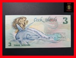 COOK 3 Dollars 1987 P. 3  UNC - Cook
