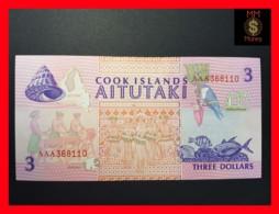COOK 3 Dollars 1992  P. 7  UNC - Cook