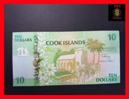 COOK 10 Dollars 1992  P. 8  UNC - Cook Islands