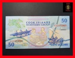 COOK 50 Dollars 1992 P. 10  UNC - Cook Islands