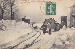 Haute-Loire - Tence - Une Congère à La Gare - Autres Communes