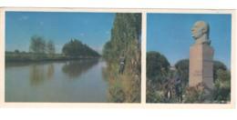 Soviet Uzbekistan Fergana Ysupov Monument Big Fergana Canal PC Long Format - Ouzbékistan
