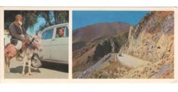Soviet Uzbekistan Fergana Road  PC Long Format - Ouzbékistan