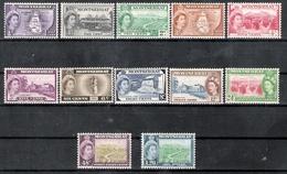Montserrat 1953-57 Definitives Assorted To $1.20 MNH CV £35 - Montserrat