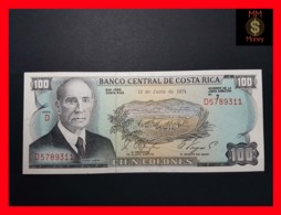 COSTA RICA 100 Colones 12.6.1974  P. 240   UNC - Costa Rica