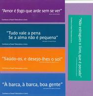 Marque-page °° Portugal - Camara Porto - 5 MP Avec Citations De Livres - 5x15 Chacun - Marcapáginas
