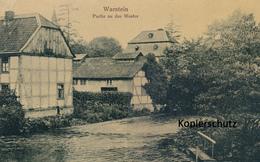 AK Warstein, Partie An Der Weser - Warstein