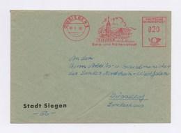 AFS - SIEGEN, Berg- Und Hüttenstadt 1958 - Poststempel - Freistempel
