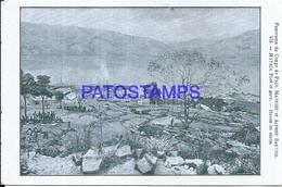 104698 AFRICA CONGO STATION TRAIN VIEW PARTIAL POSTAL POSTCARD - Cartes Postales