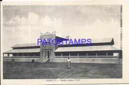 104699 AFRICA DJIBOUTI STATION TRAIN COTIERE POSTAL POSTCARD - Cartes Postales