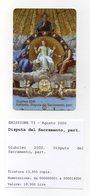 Vaticano - Urmet - Raffaello - Disputa Del Sacramento - Particolare  - Nuova - Validità 1.9.2002 - (FDC13276) - Vaticano