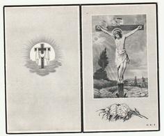 Doodsprentje Constantia REYNDERS Echtg. Geysen Kwaadmechelen 1909 Tervant-Paal 1955 (staat Vermeld 1655 Drukfout) - Images Religieuses