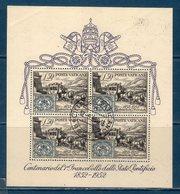Vaticano / Vatican City 1952 BF 1 US. - Blocchi E Foglietti